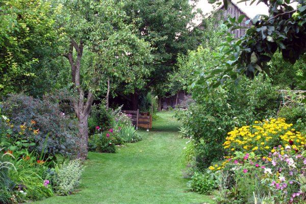 Péče o přírodní zahradu může být časově náročnější
