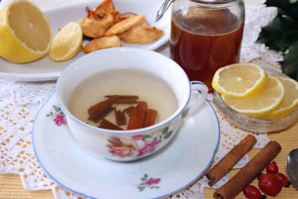 Skořicový čaj