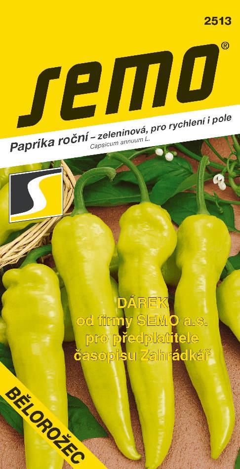 Paprika Bělorožec