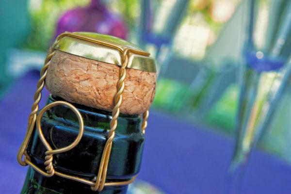 Uzávěr šumivého vína