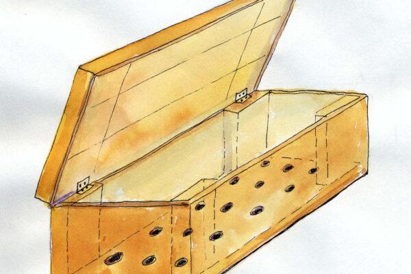 Box vhodný oro vemikompostování