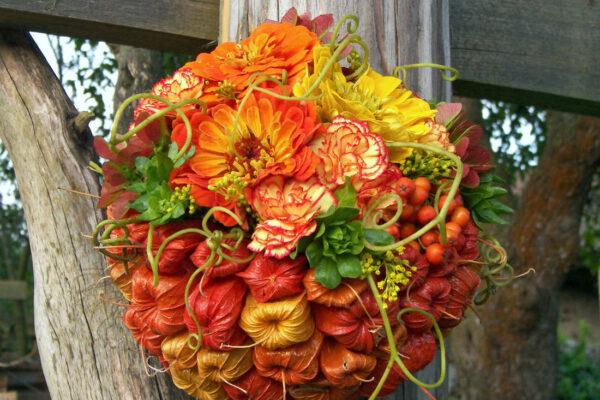 Polovina mochyně a polovina květiny a další přírodniny